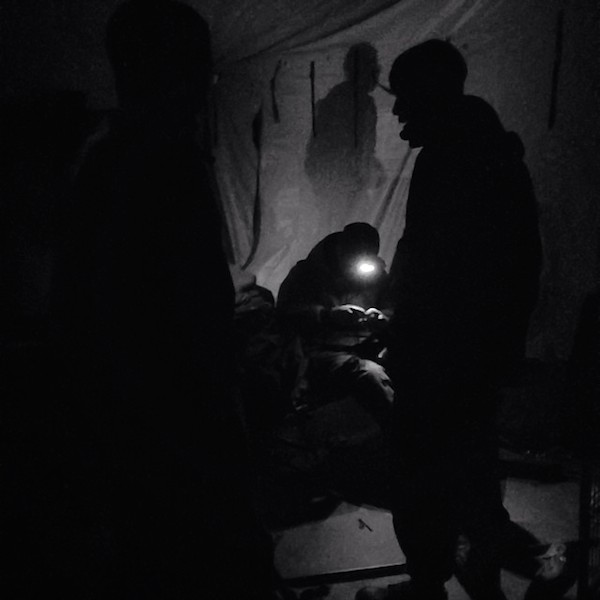 Army. Tent. by Eli Spector