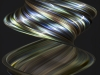 Paua Shell in Motion by Ted Kinsman