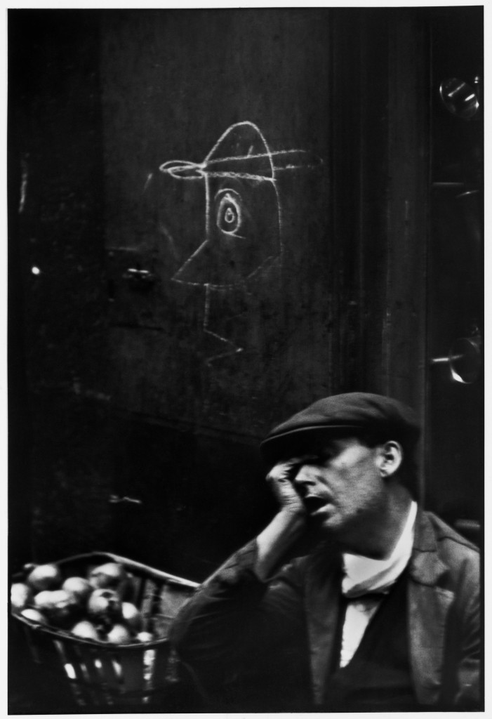 Barrio Chino, Barcelona, Spain (1933) by Henri Cartier-Bresson, from the Simon & Schuster edition of The Decisive Moment (1952), p. 31; © Henri Cartier- Bresson/Magnum Photos